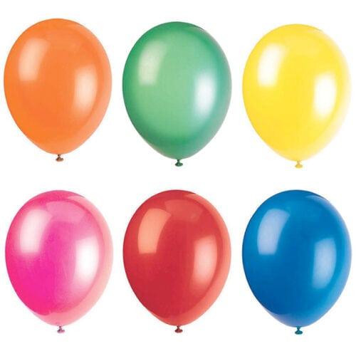 3er Set Farbige Ballon